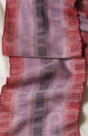 stripes & blocks pink bad selvedges