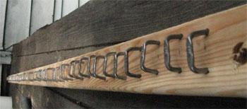 stapled beam