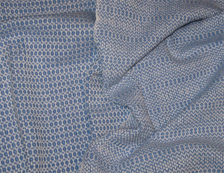 handwoven towels with blue