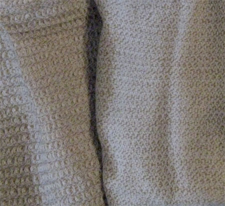 handwoven oatmeal towels #1