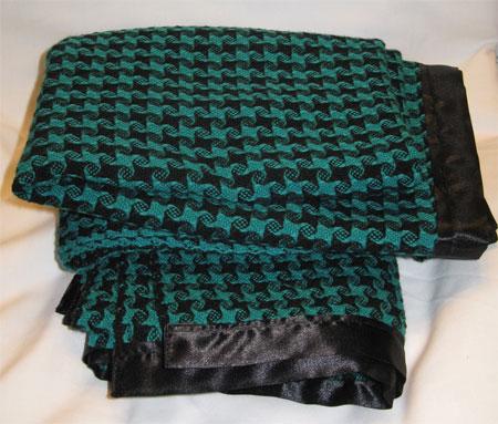 Summer's handwoven baby blankets
