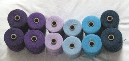 warp yarn for EJ's baby wraps