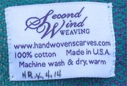 my baby wrap label