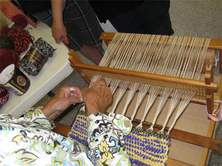 Val weaving