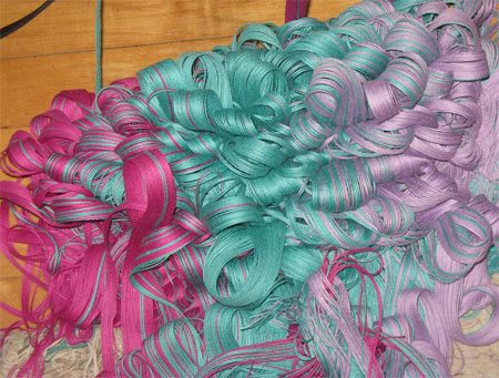 ribbon candy yarn