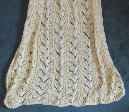 LMC knit blanket