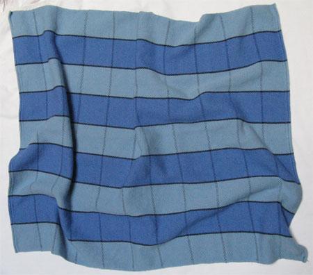 TB's custom baby blanket