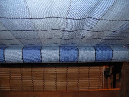 TB's blanket underneath