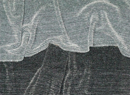 gray & black rayon chenille scarves