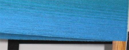 turquoise to bleu moyen warp