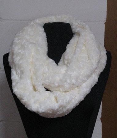 fur infinity scarf