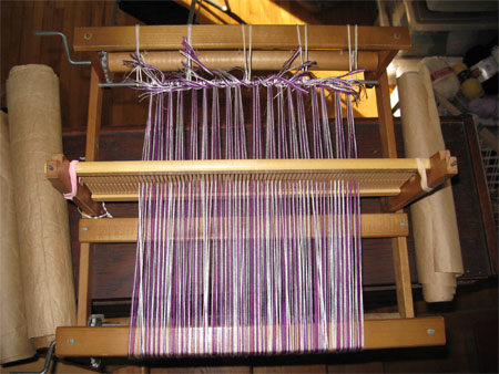 rigid heddle loom, 1-1-15