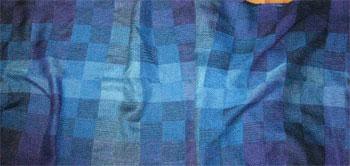 taquete squares rayon shawl