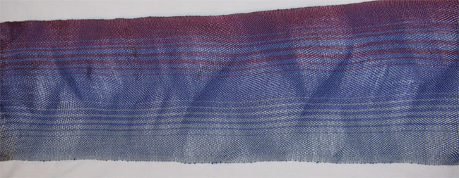 2nd section of wavy weaving