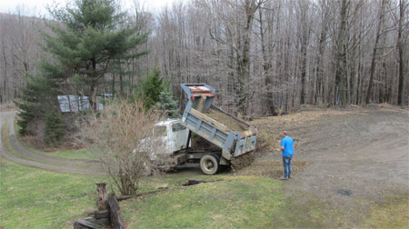 dumping stone