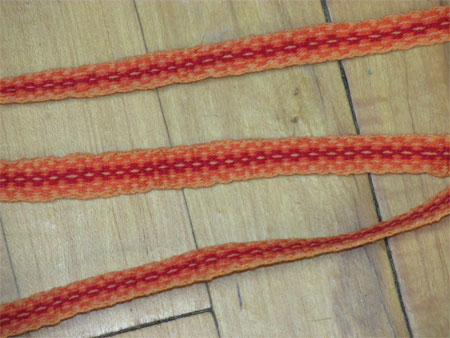 finished 1st inkle band
