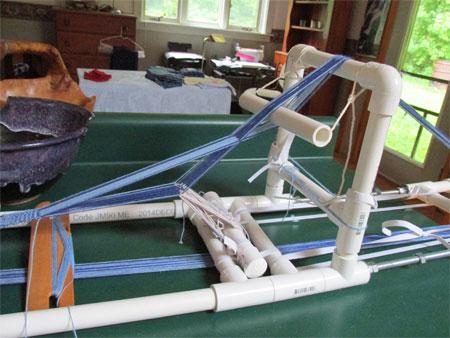 PVC inkle loom