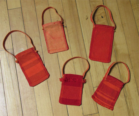treasure pouches with handles