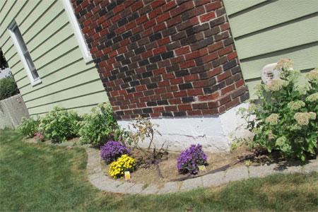 side garden, Spencer