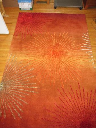 spare room rug