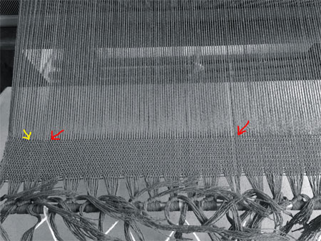 reed threading errors