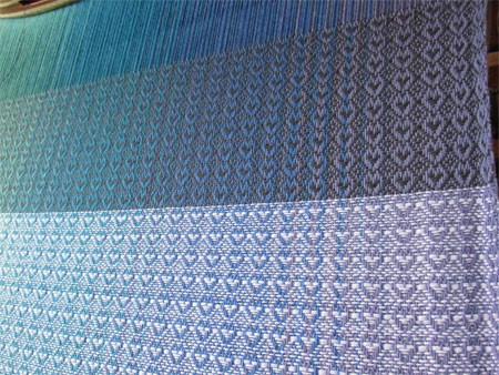 KG's charcoal weft