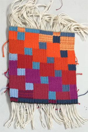 striking color tapestry