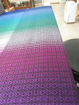 CT's wrap on the loom