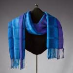 handwoven Gemtones shawl