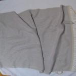 lavender ice snowflake shawl