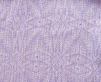 handwoven silk snowflakes scarf