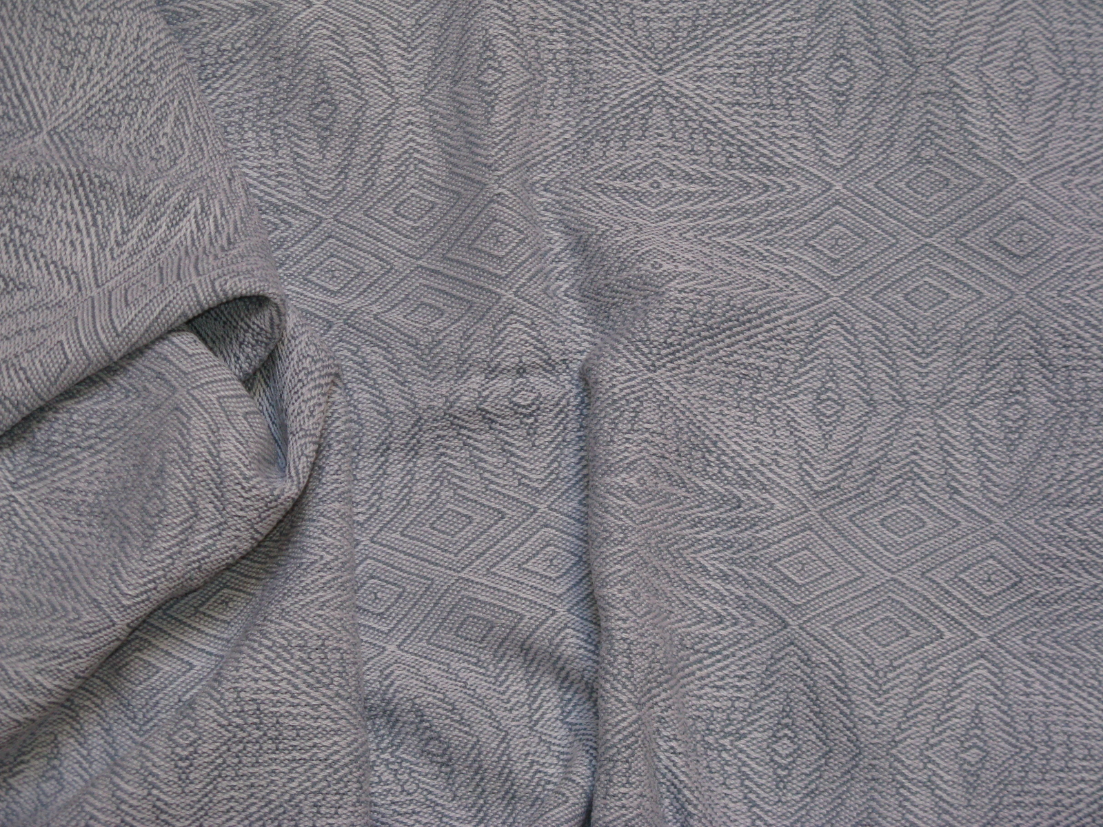 silk & linen snowflake shawl