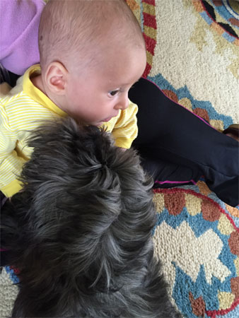 Jack and new baby