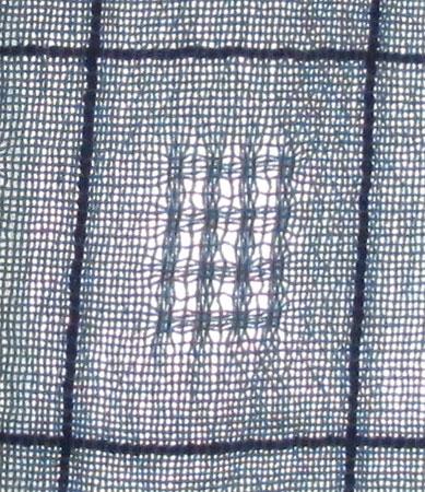 curtains closeup