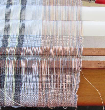 very wonky linen