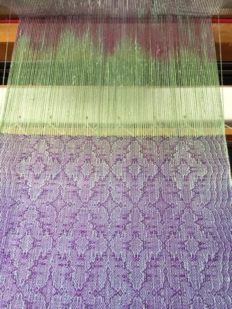 HP silk warp, 20/2 rayon weft