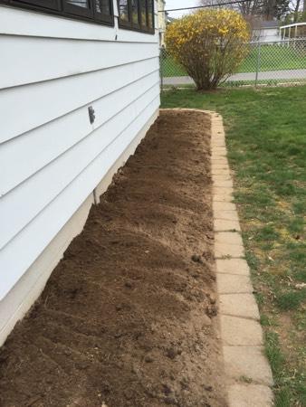 side garden ready