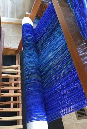 blue rayon chenille shawls