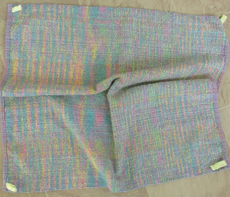 cotton flannel baby blanket