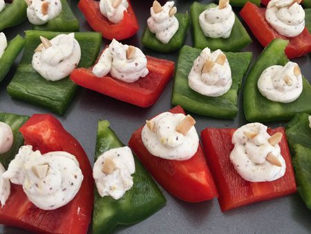 pepper cream cheese appetizers