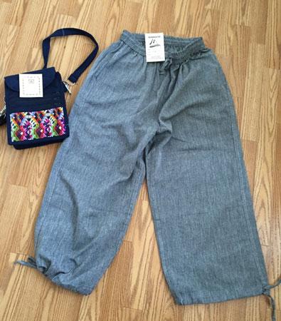 new pants & bag