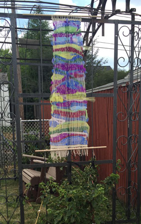 RALA community weaving hung