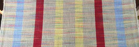 handwoven Cheryl towel, plain weave
