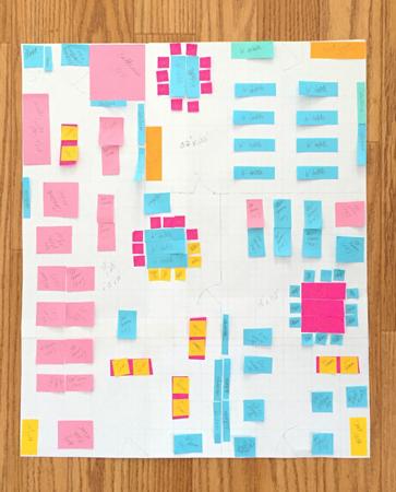 possible floor plan layout
