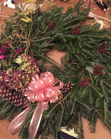 Amanda's wreath