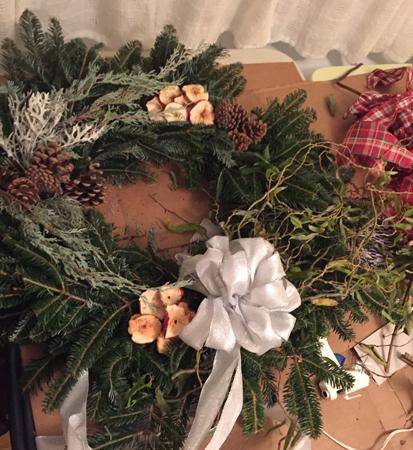 Kristen's wreath