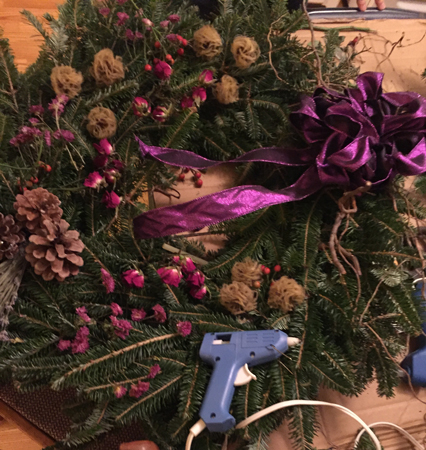 Liz's wreath