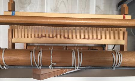 rigid heddle loom, 1-1-17