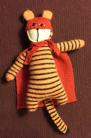 super tiger, front