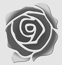 rose design for transparency